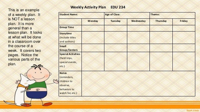 two year old lesson plan template - curriculum infants toddlers and two year olds