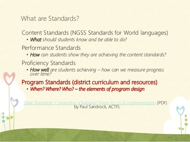 SCPS World Languages Curriculum Review - World language curriculum