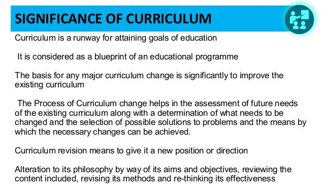 Need for Curriculum revision