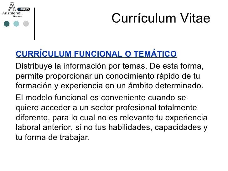 vitae 7 currculum funcional o temtico