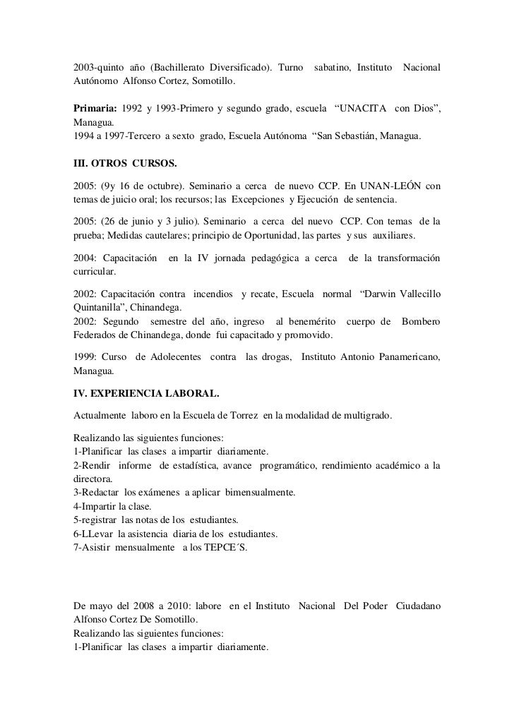 Lujoso Curriculum Vitae Matriculado Bandera - Colección De ...