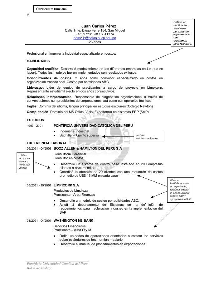 Curriculum Vitae Ingeniero Industrial Logistica Convenio Uta Cl
