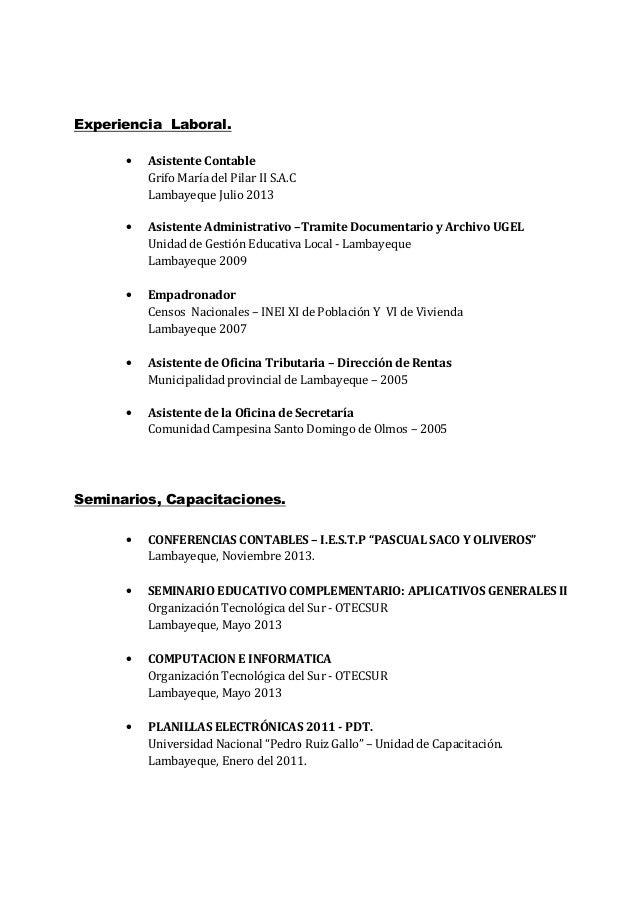 Curriculum Vitae Giancarlo Lopez Nino 2014