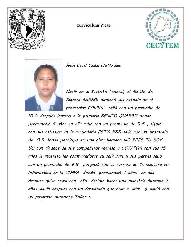 Curriculum Vitae Presidente 33