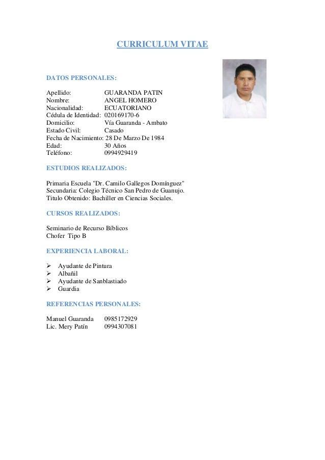 Filipino thesis curriculum vitae picture 5