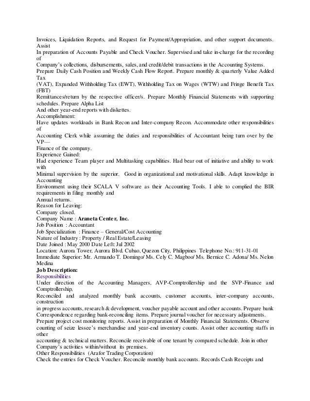 curriculum vitae of mr  lorenzo tion tan  cpa
