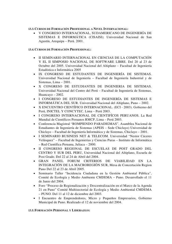 Curriculum Vitae 2007 Aldoz