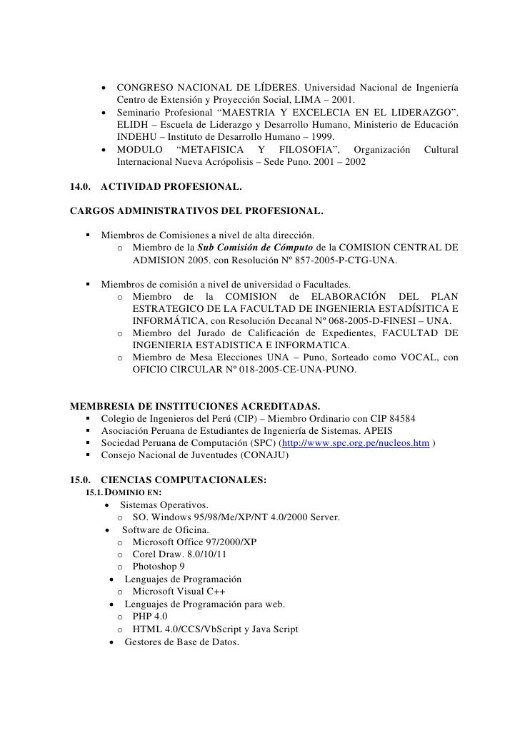 Excepcional Currículum Para Mecanógrafo Imágenes - Colección De ...