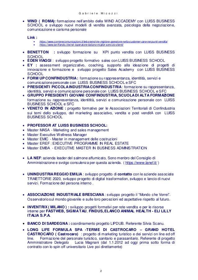 Curriculum vitae  2021 Slide 2