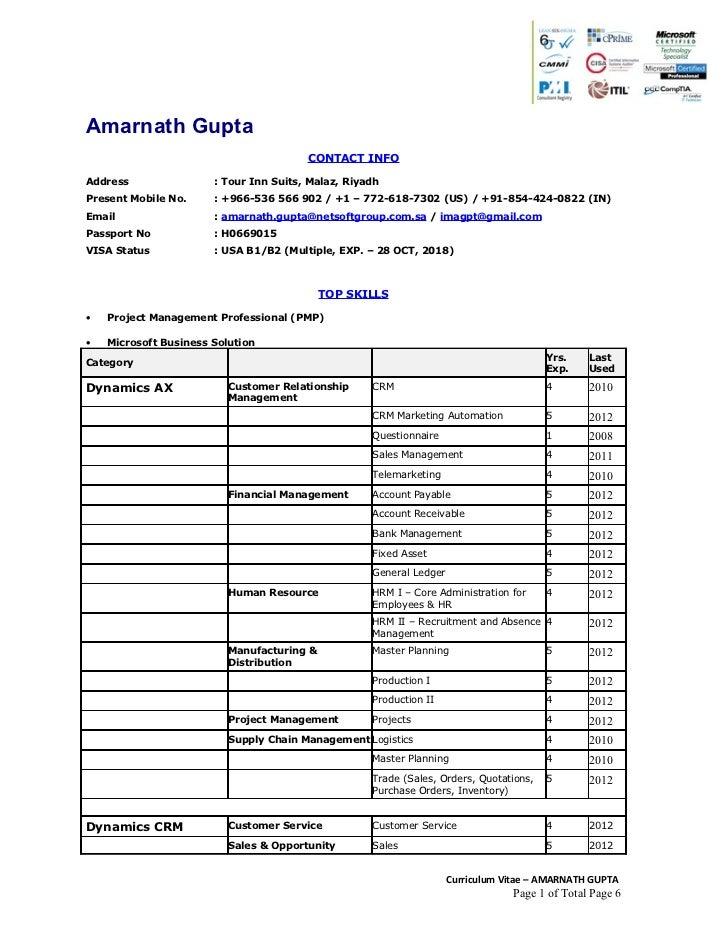 Amarnath Gupta                                        CONTACT INFOAddress                : Tour Inn Suits, Malaz, RiyadhPr...