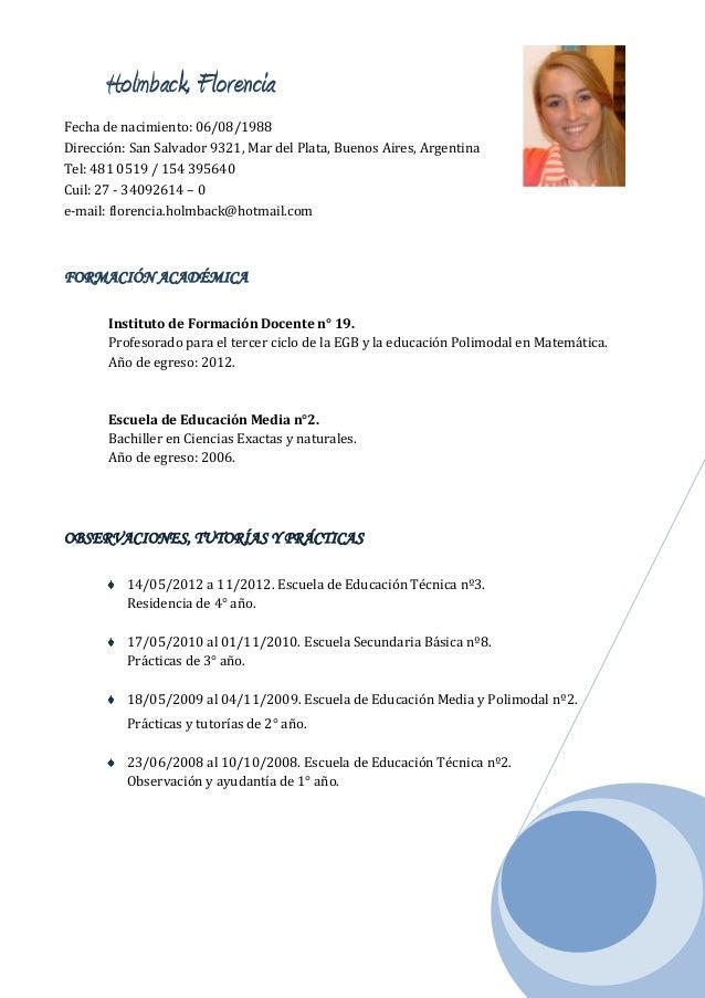 modelos de curriculum vitae curriculum vitae docente - Modelos De Resume