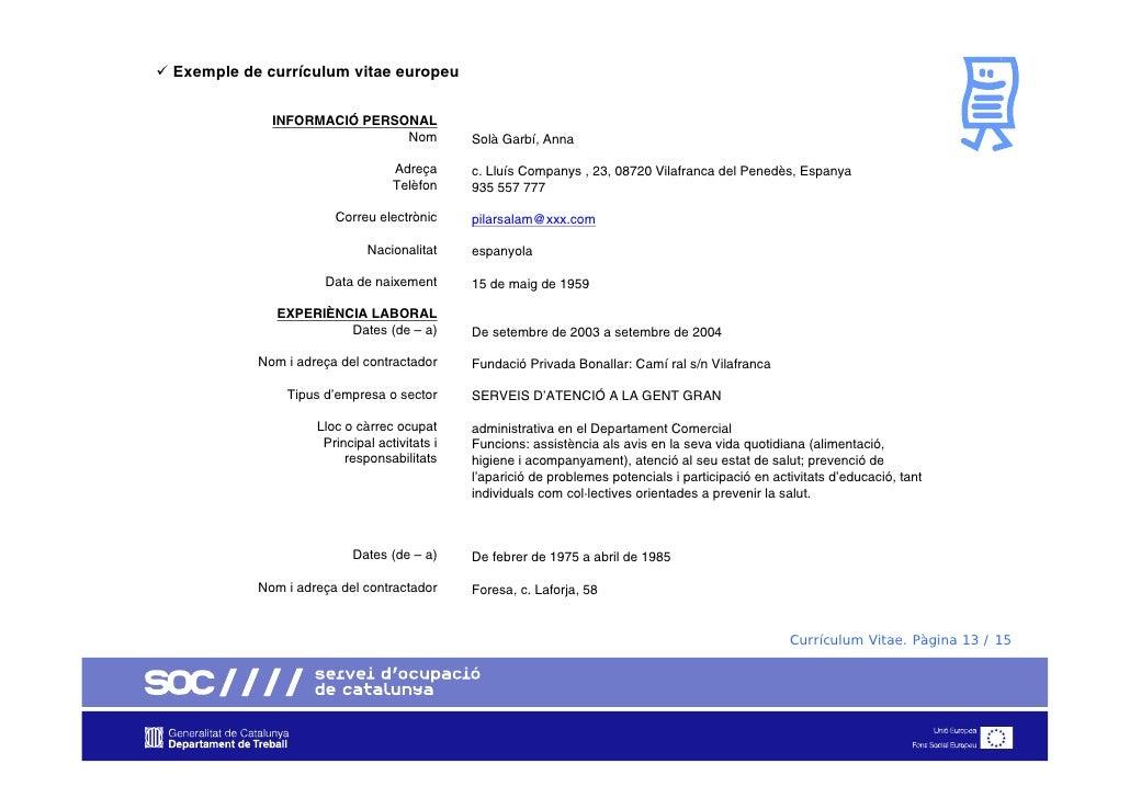 curriculum vitae eines catala
