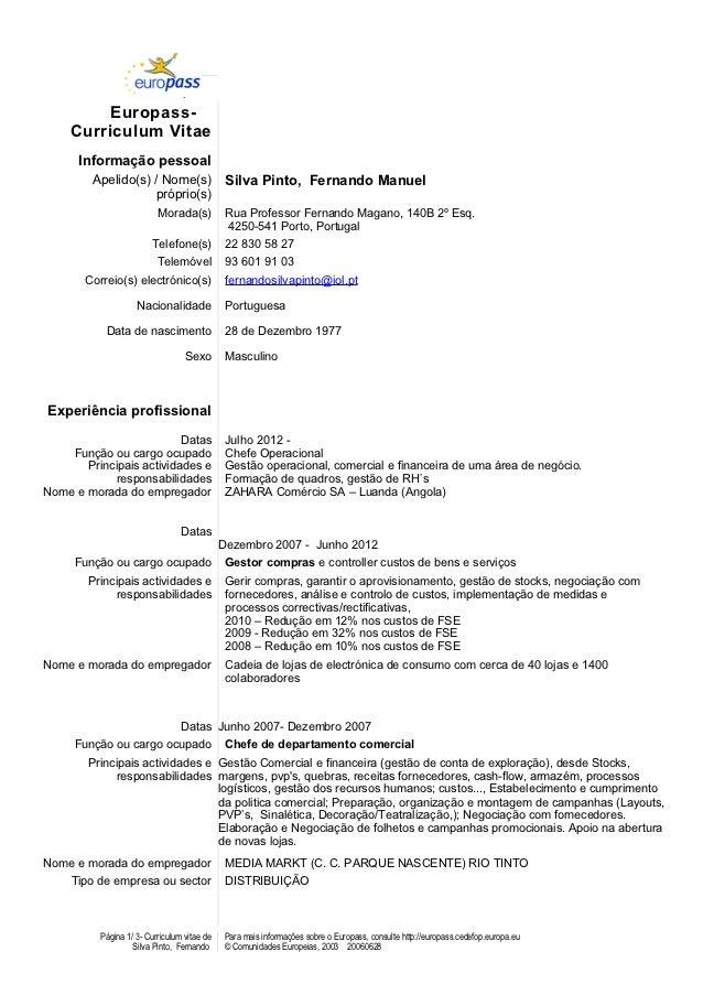 Ju         Europass-    Curriculum Vitae      Informação pessoal         Apelido(s) / Nome(s)                 Silva Pinto,...