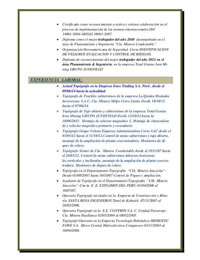 Hermosa Mejor Formato De Currículum De Ingeniería Civil Ornamento ...