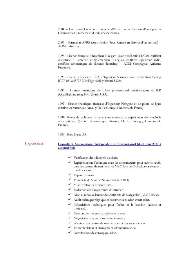 Curriculum vitae lepine - Certificat d origine chambre de commerce ...