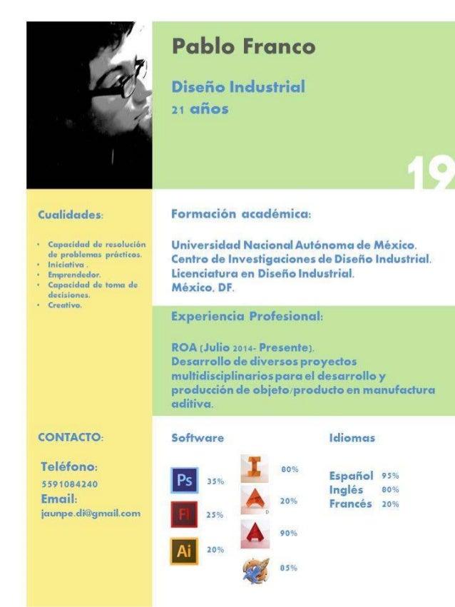 Curriculum Vitae Pablo Franco Pp