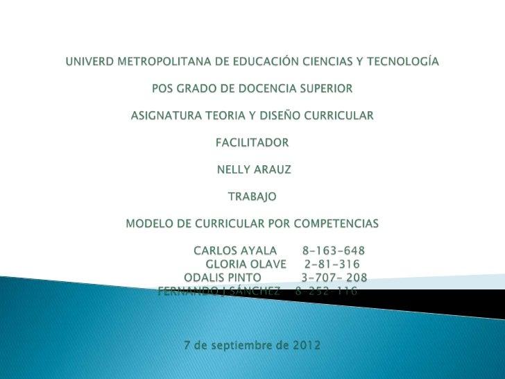    El presente trabaja emprende el tema del enfoque por    competencias en educación, para desarrollar dicha    temática ...