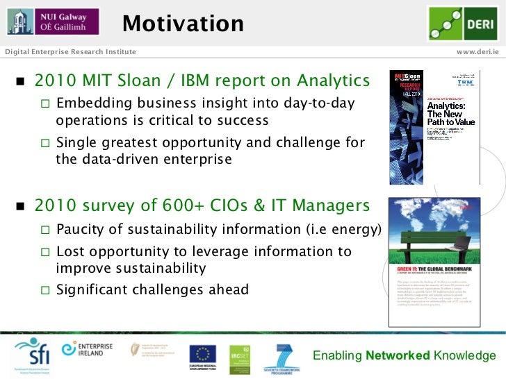 MotivationDigital Enterprise Research Institute                                      www.deri.ie  n   2010 MIT Sloan / I...