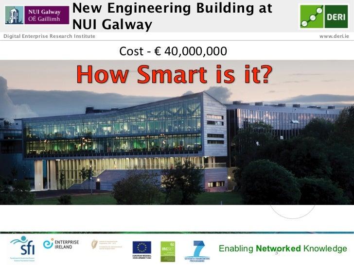 New Engineering Building at                           NUI GalwayDigital Enterprise Research Institute                     ...