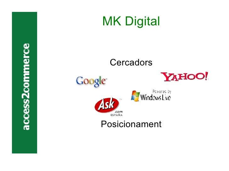 MK Digital Cercadors Posicionament