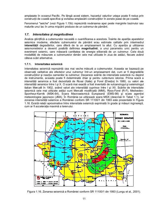 Harta De Zonare Seismica