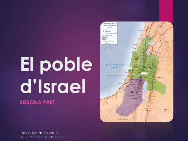 El poble d'Israel SEGONA PART