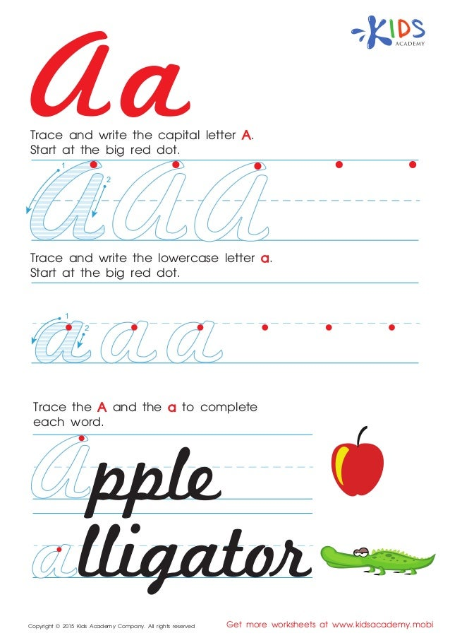 picture about Abc Printable Worksheets identified as Cursive ABC printable worksheets for Preschool and