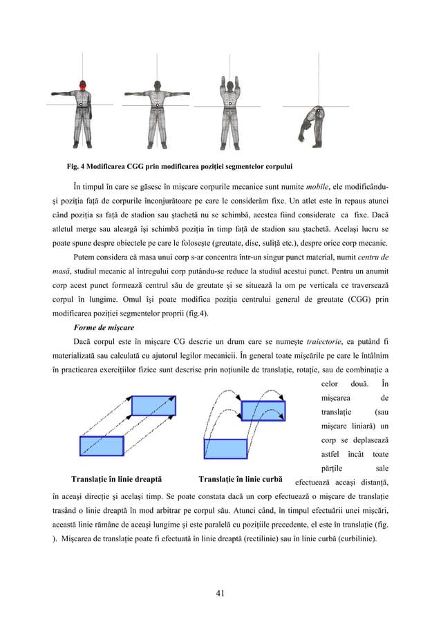 41 Translaţie în linie dreaptă Translaţie în linie curbă În timpul în care se găsesc în mişcare corpurile mecanice sunt nu...
