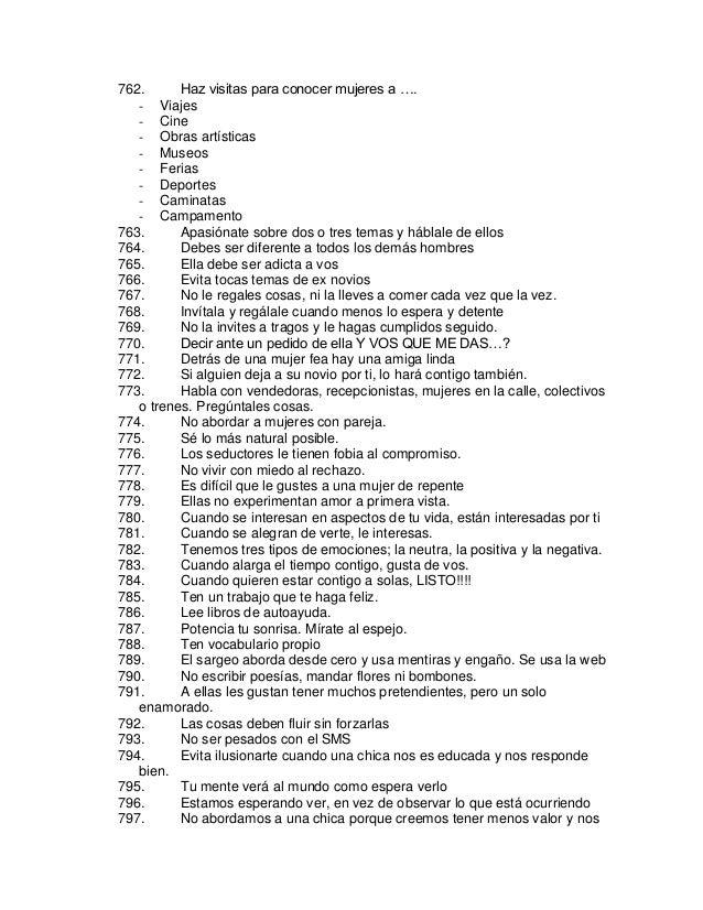 Lista de las preguntas para conocer a un hombre