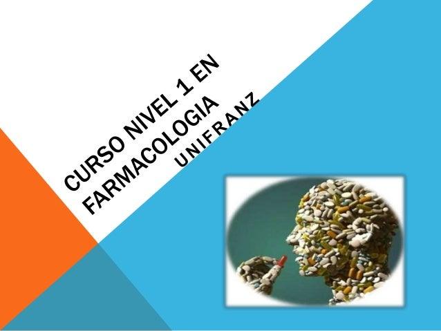 CONCEPTO DE LA FARMACOLOGIA  • La farmacologia es la ciencia que estudia las acciones y propiedades de los farmacos en los...
