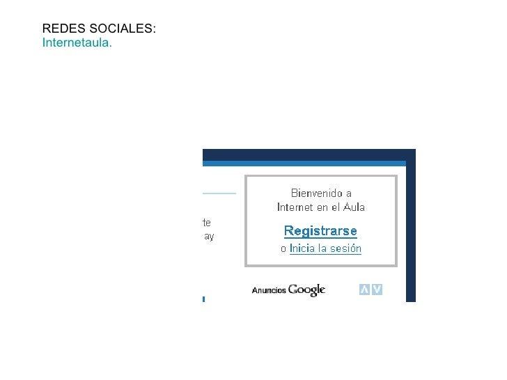 REDES SOCIALES: Internetaula .