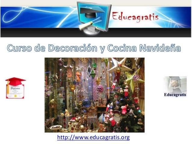 Curso de decoraci n y cocina de navidad - Cursos de cocina en ciudad real ...