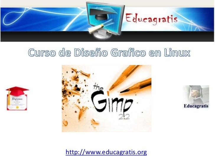 Cursos gratis de dise o gr fico en linux for Diseno grafico escuelas