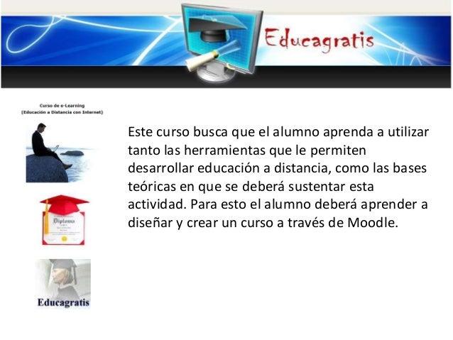 Curso de elearning educacion a distancia con internet for Curso de interiorismo a distancia