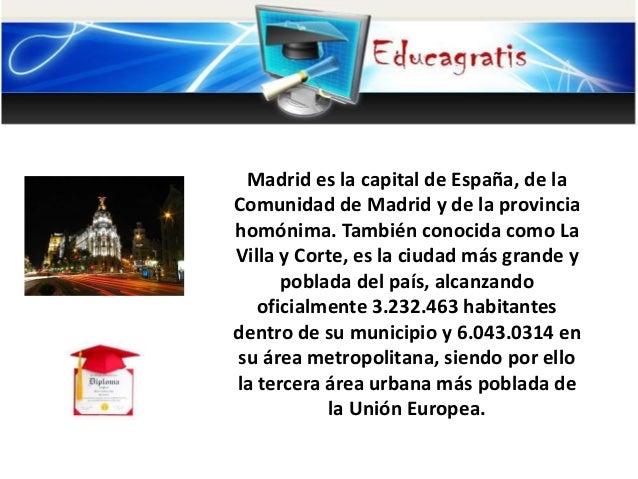 Curso de Historia de Madrid Slide 2