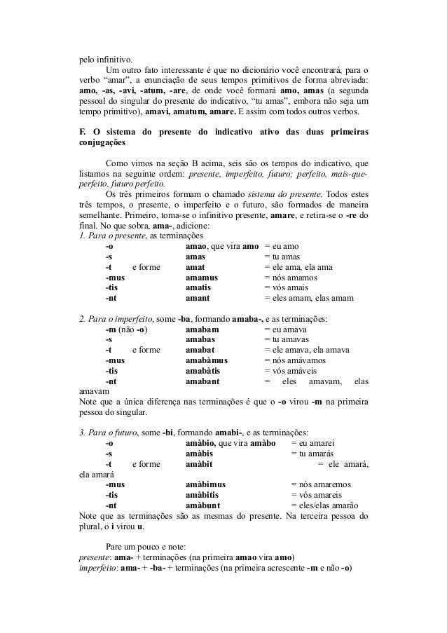 Curso Francês.doc | Tempo Gramatical | Plural