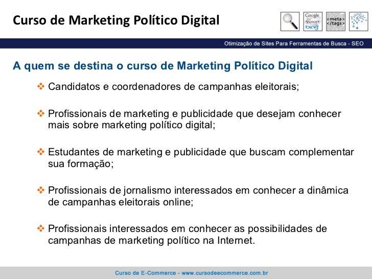 Curso de marketing digital sp