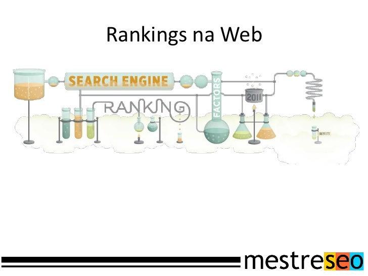 Rankings na Web