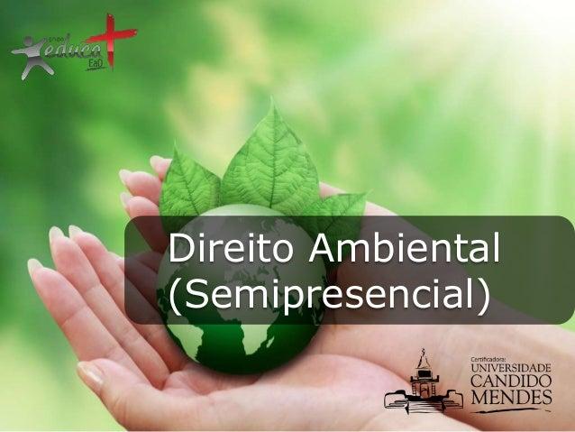 Direito Ambiental (Semipresencial)