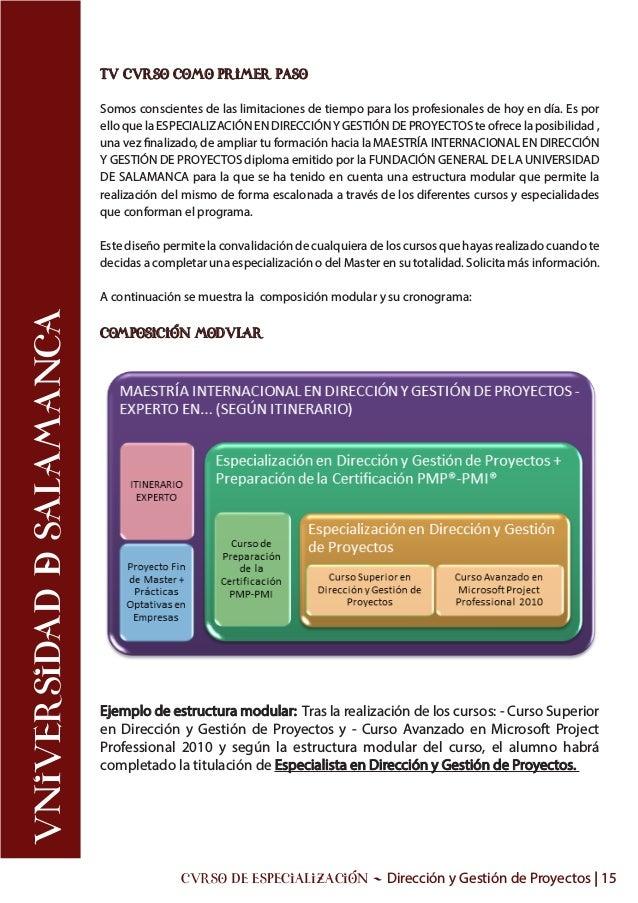 Excepcional Cursos De Certificación Gestión De Proyectos En ...