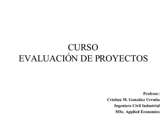 Curso Ev. Proyectos