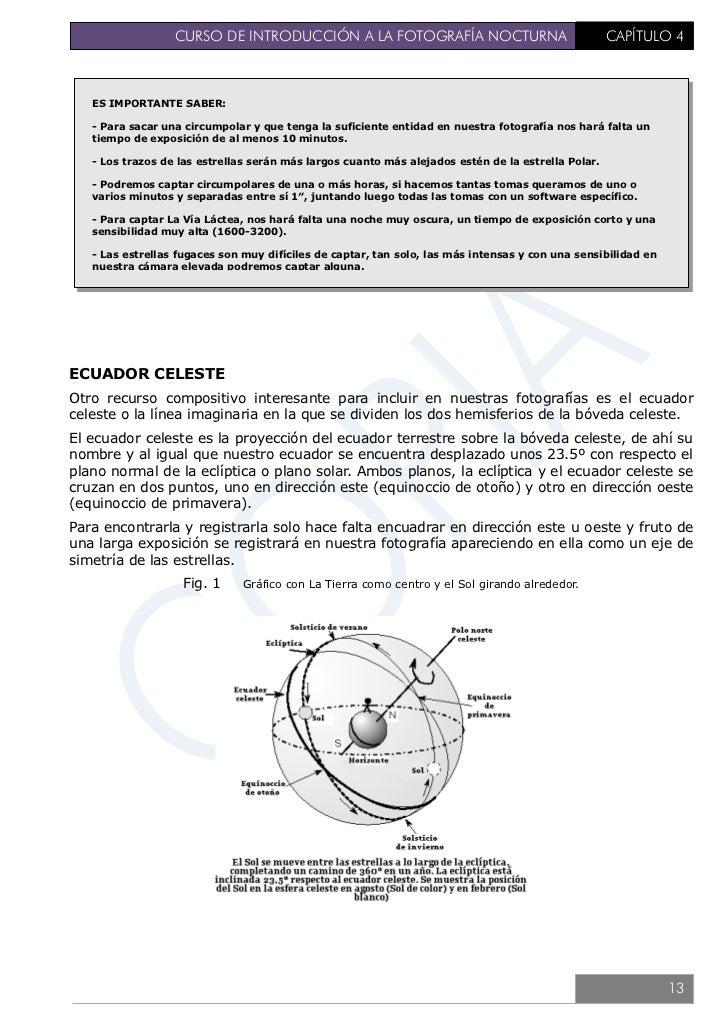 CURSO DE INTRODUCCIÓN A LA FOTOGRAFÍA NOCTURNA                              CAPÍTULO 4             Fig. 2   En esta imagen...