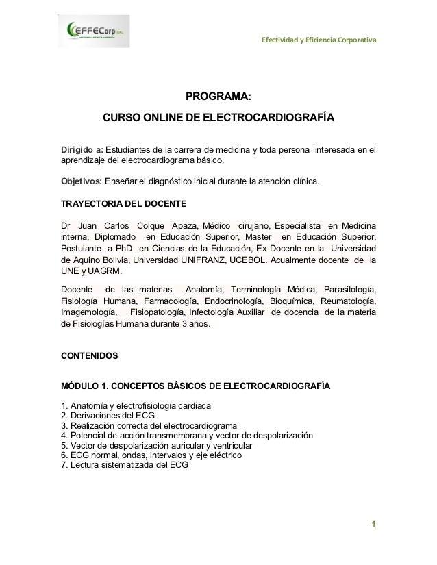 Curso online-electrocardiografia
