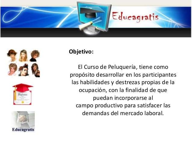 Curso gratis de peluqueria corte y peinados for Curso de interiorismo gratis