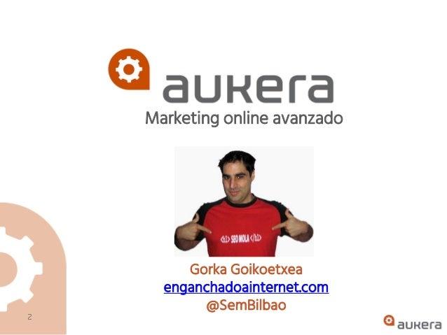 Curso de SEO presencial en Bilbao Slide 2