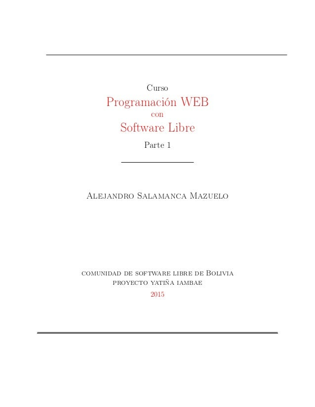 Curso software-libre-y-desarrollo-web-p-1