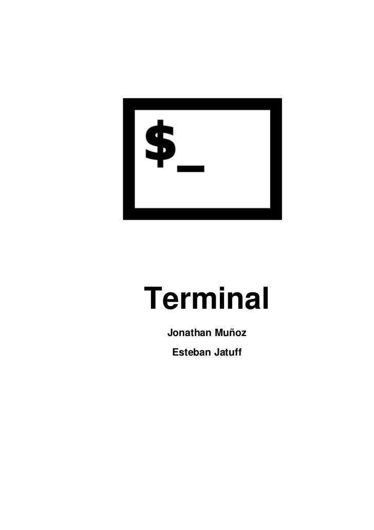 Terminal Jonathan Muñoz Esteban Jatuff