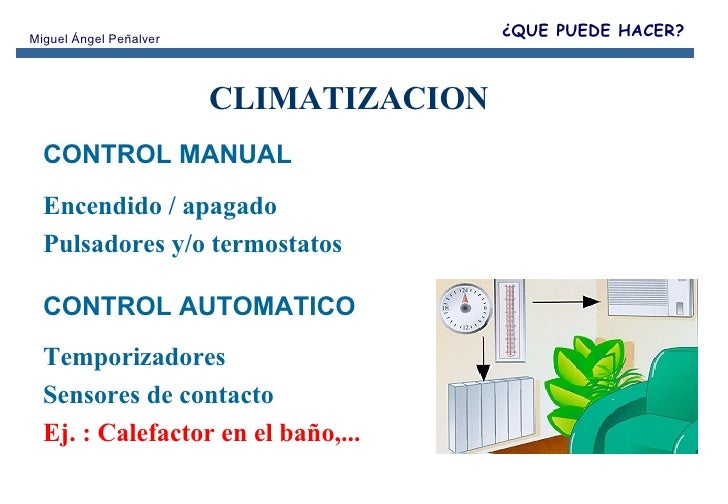 Curso visvox2 for Clases de termostatos