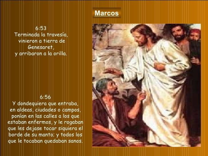 Resultado de imagen para Marcos 6,53-56