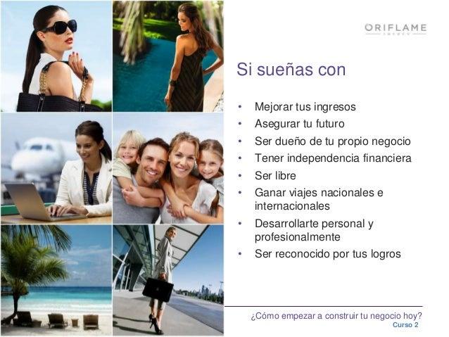 Gana dinero consumiedo y recomendando Oriflame Slide 3